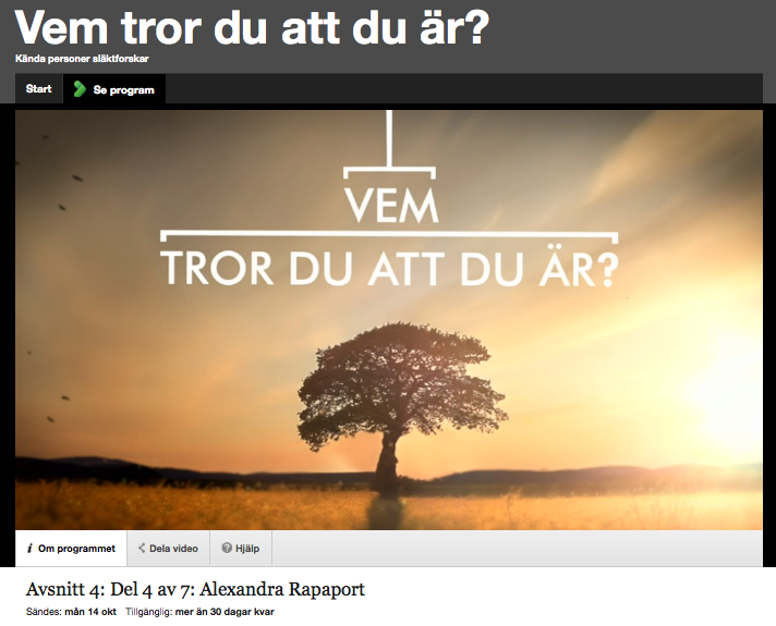 Swedish TV Show